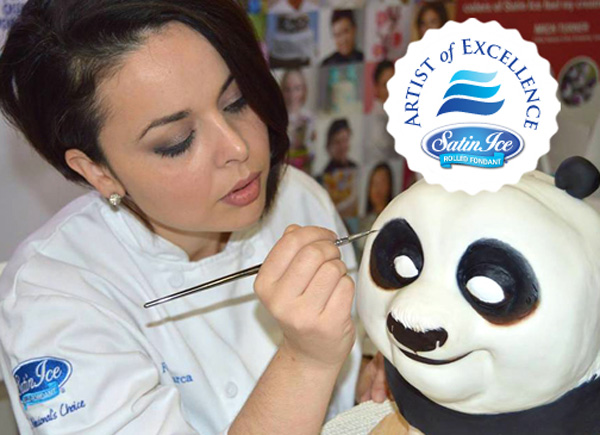Fernanda Abarca of California is the Satin Ice Featured Artist of Excellence for February!