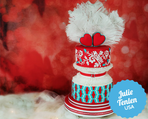 Dr. Seuss Winter Cake