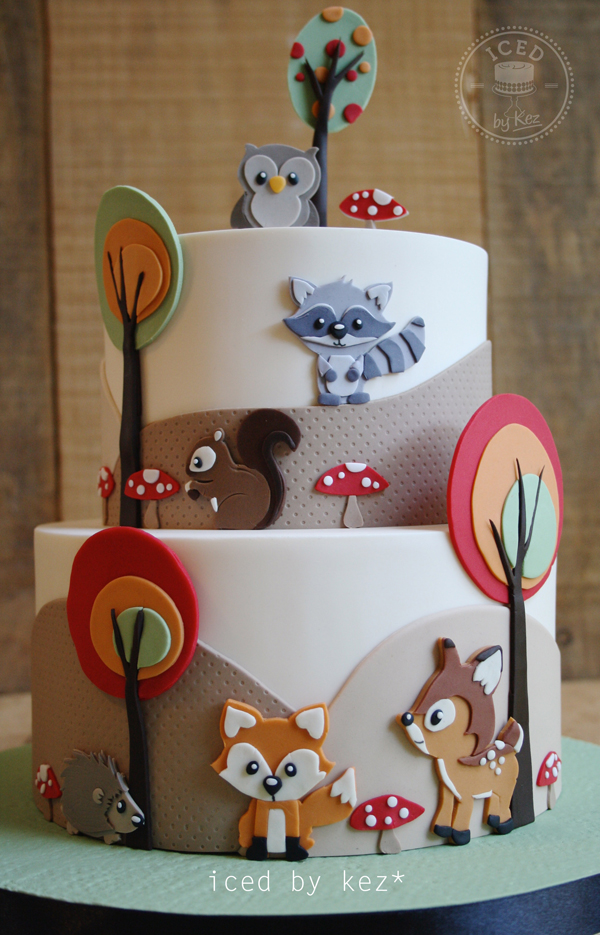 Cake Design Animal : Sugar Myths & Fantasies Cake Collaboration Satin Ice